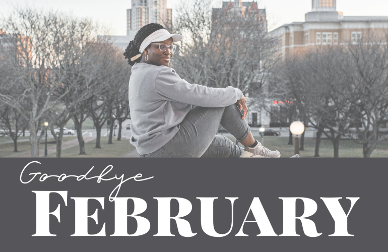 February gratitude list, thankfulness