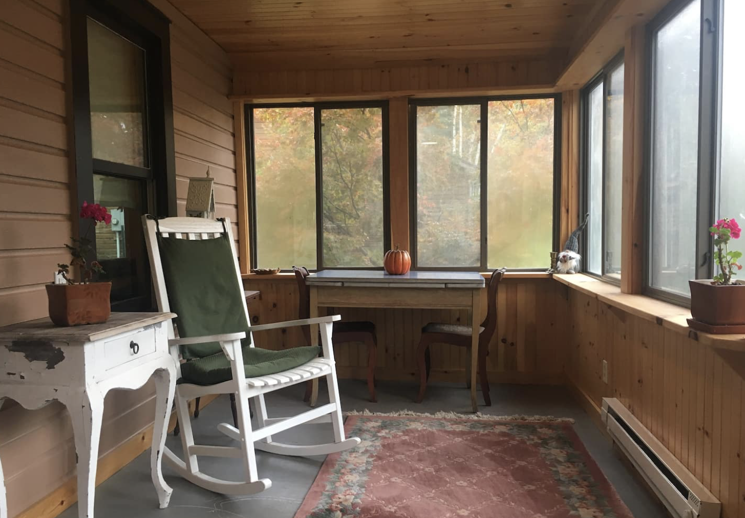 Cozy Catskills Cottage on the Esopus Creek from Nicole Eva blog post 8 air bobs I would visit right now